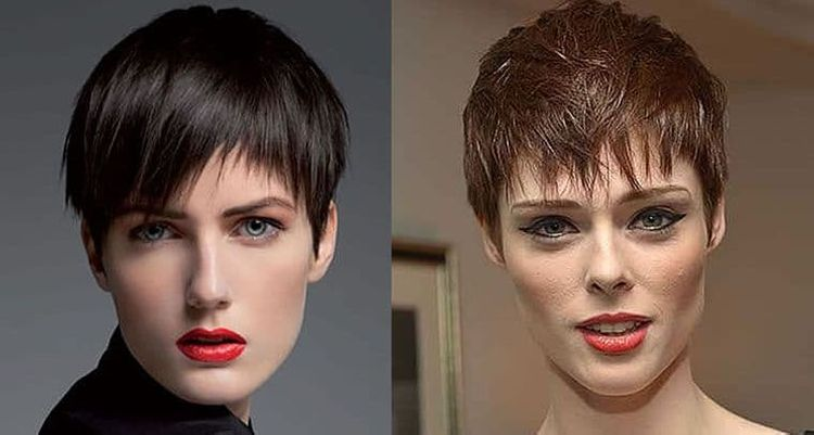 Trendy pixie haircut and hair style for women