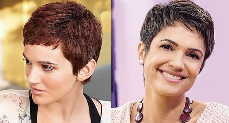 Layered pixie haircuts for women with oval face