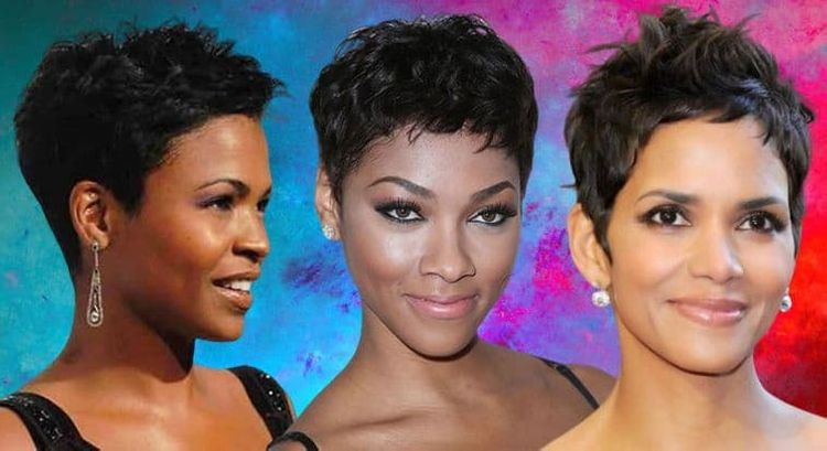 Pixie haircuts and hairstyles for black women