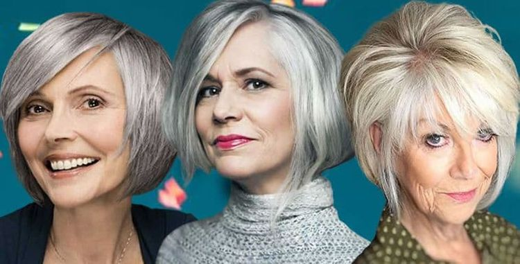 Bob haircuts for older women over 60