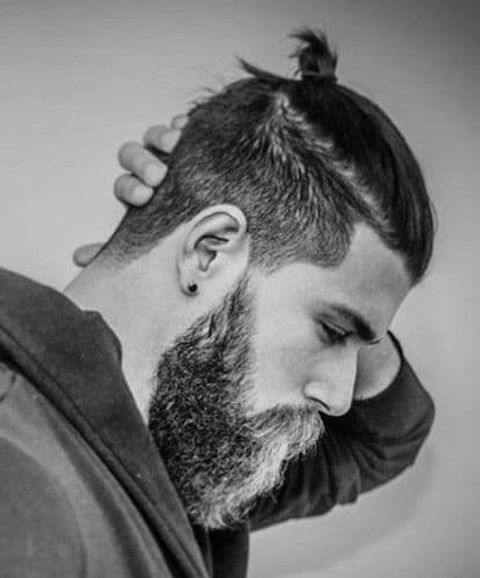 New undercut hairstyle for men