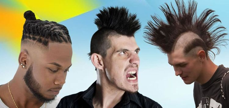 Different mohawk hairstyles for men