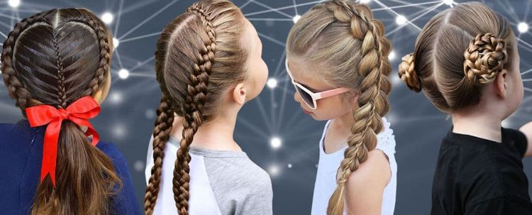 Easy and cool hairstyles for school girls