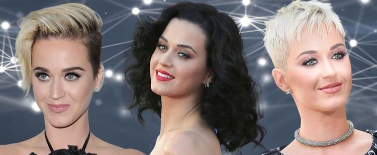 Katy Perry's hairstyles haircuts and hair colors