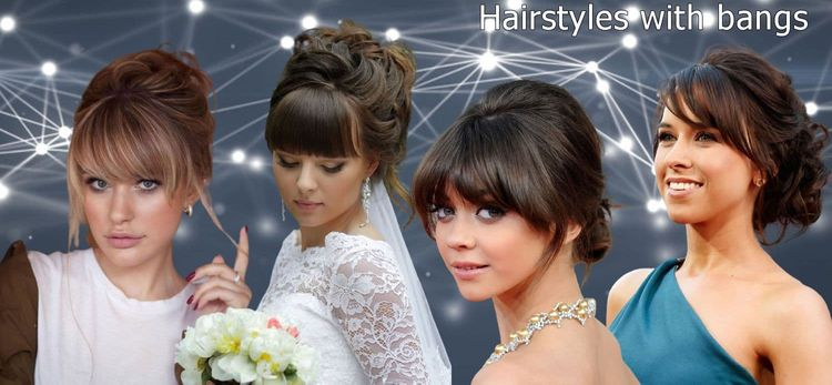 hairstyles with bangs for women 2021-2022