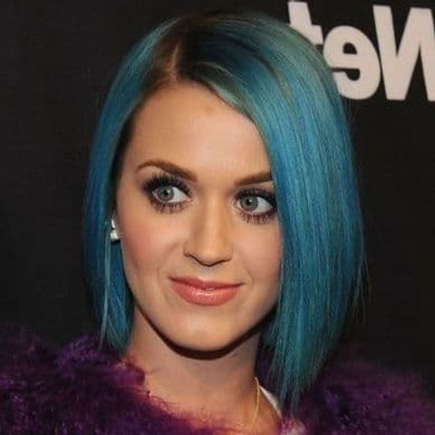 Katy Perry's bob hairstyle 2021-2022