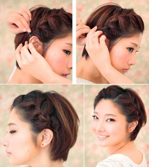 Cool and easy short hair for teenage girls in 2021-2022