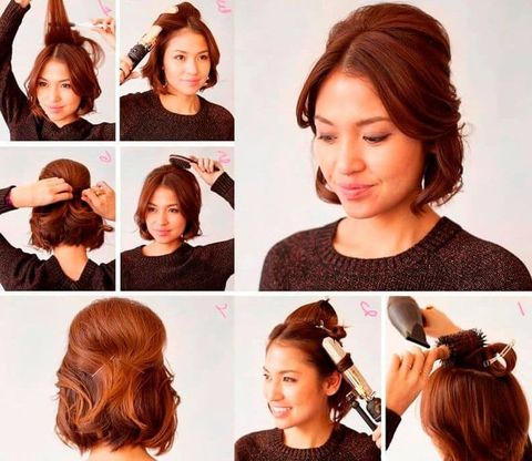 Easy hair style to do at home for women in 2021-2022