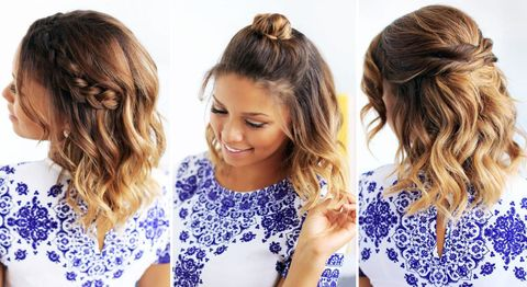 Easy hairstyle for school for women in 2021-2022