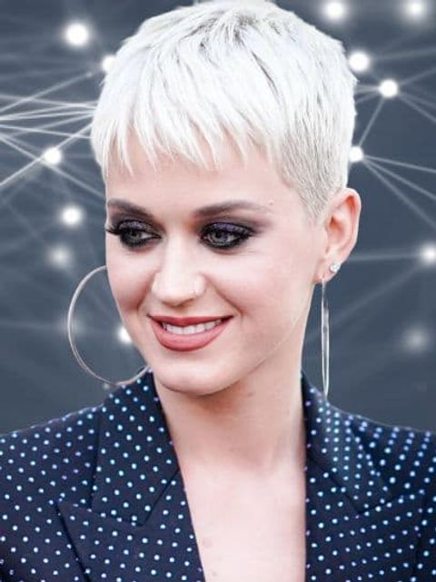 Katy Perry very short pixie haircuts and hair colors