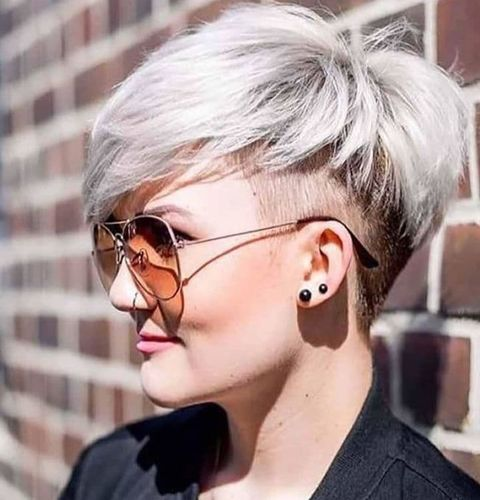 Pixie with undercut