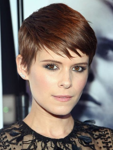 Pixie hairstyle for women with long face