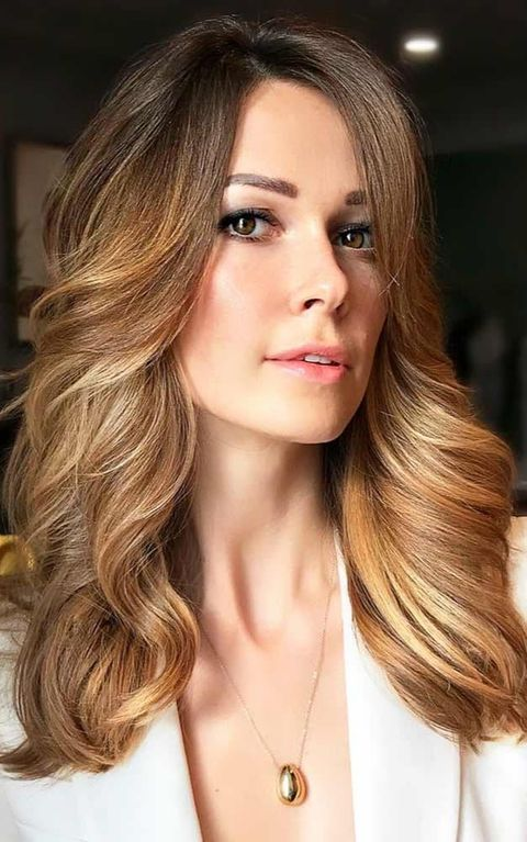 Golden Brown Ombre