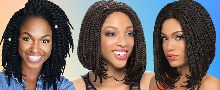 Latest braided bob hairstyles