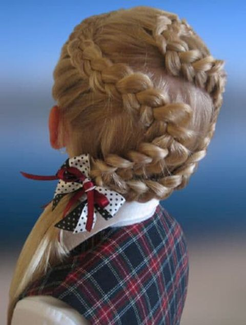 Chic braids for kids