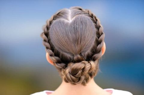Easy braids for school girls