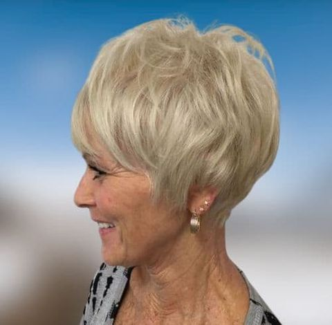 hairstyles for women over 60 suitable for all face types