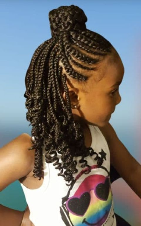 Easy and fast hairstyles for little girls in 2021-2022