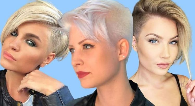 Short pixie undercut hairstyles for women