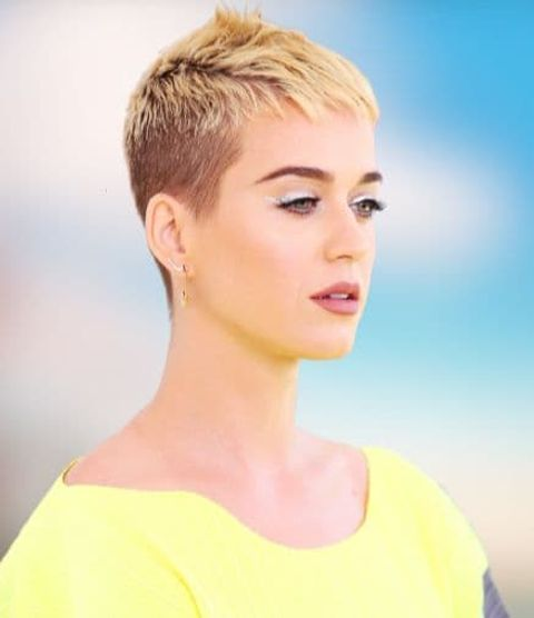 Katy Perry Short haircuts hairstyles and hair colors 2021-2022