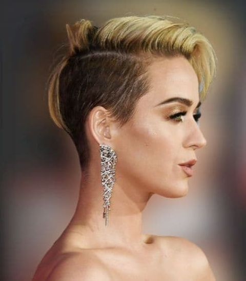 Katy Perry Short haircuts hairstyles and hair colors