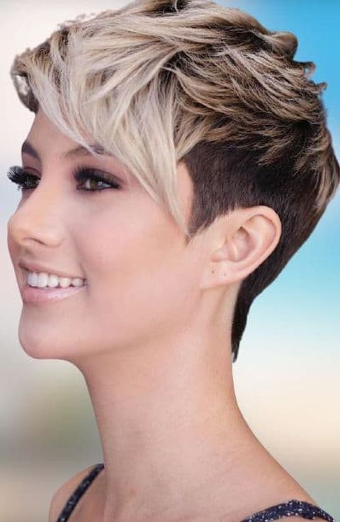 Layered pixie style for girls 2021-2022