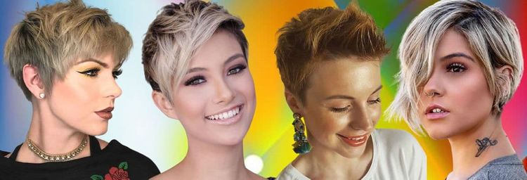 The best short hairstyles and hair colors for women in 2021-2022