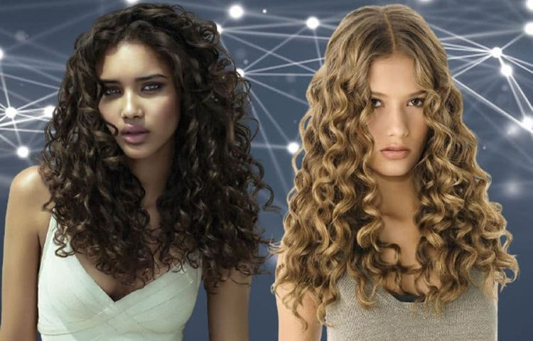 long curly hairstyles for women 2021-2022