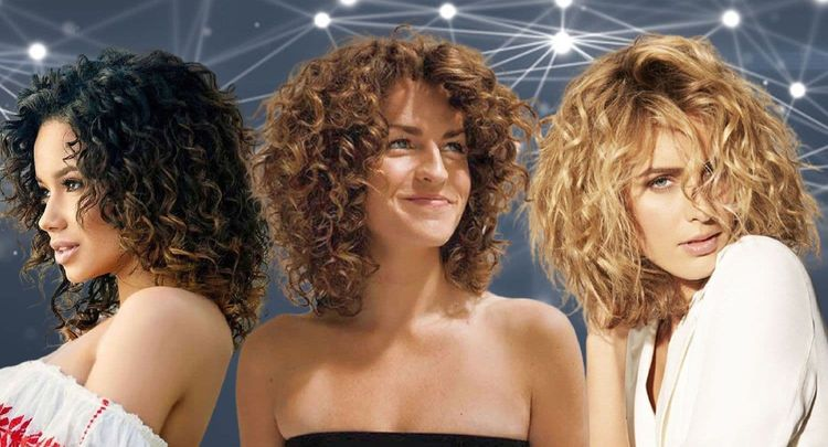 Mid-length curly hairstyles for women in 2021-2022