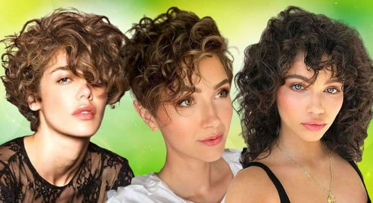 Curly hairstyles for women in 2020 - 2021