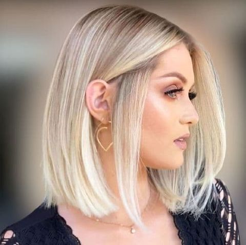Easy bob hairstyles, haircuts and hair colors for women in 2021-2022