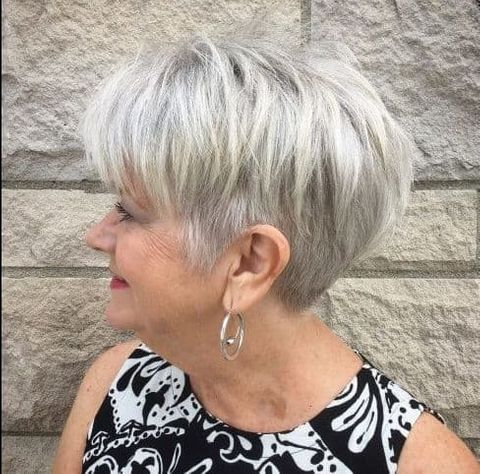 the most suitable hairstyles for women over 60 in 2020