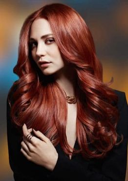 Red hair colors for women