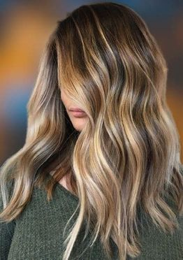 Highlights haircolor ideas for women