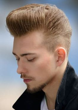 Pompadour haircuts and hairstyles for men
